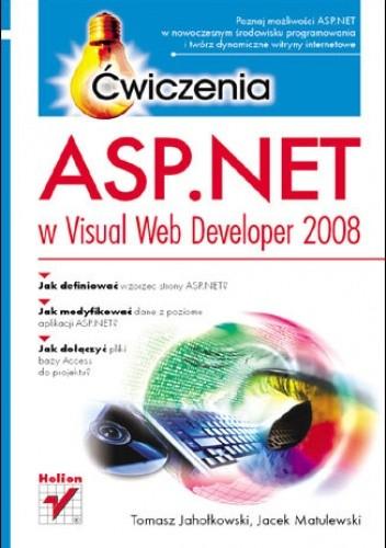 Okładka książki ASP.NET w Visual Web Developer 2008. Ćwiczenia