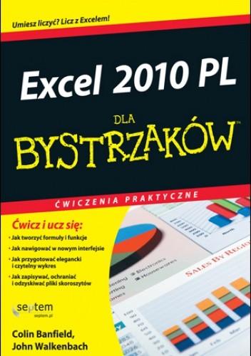 Okładka książki Excel 2010 PL. Ćwiczenia praktyczne dla bystrzaków