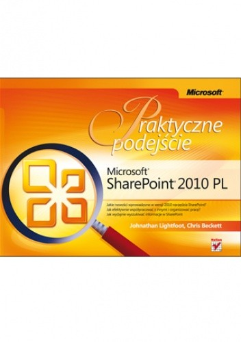 Okładka książki Microsoft SharePoint 2010 PL. Praktyczne podejście