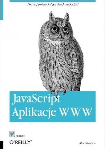 Okładka książki JavaScript. Aplikacje WWW