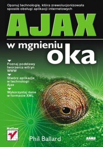 Okładka książki AJAX w mgnieniu oka