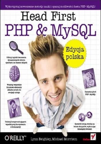 Okładka książki Head First PHP & MySQL. Edycja polska