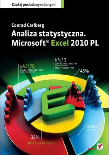 Okładka książki Analiza statystyczna. Microsoft Excel 2010 PL