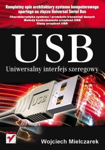 Okładka książki USB. Uniwersalny interfejs szeregowy