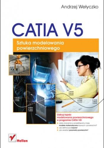 Okładka książki CATIA V5. Sztuka modelowania powierzchniowego
