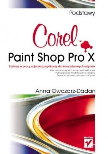 Okładka książki Corel Paint Shop Pro X. Podstawy