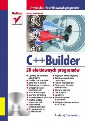 Okładka książki C++ Builder. 20 efektownych programów