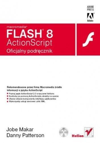 Okładka książki Macromedia Flash 8 ActionScript. Oficjalny podręcznik