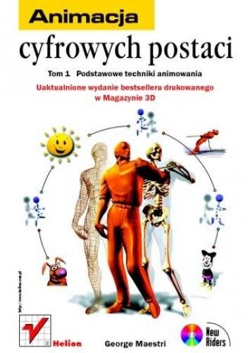 Okładka książki Animacja cyfrowych postaci