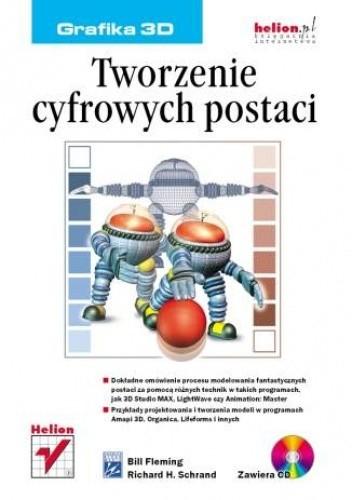 Okładka książki Tworzenie cyfrowych postaci