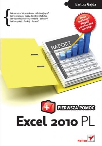 Okładka książki Excel 2010 PL. Pierwsza pomoc