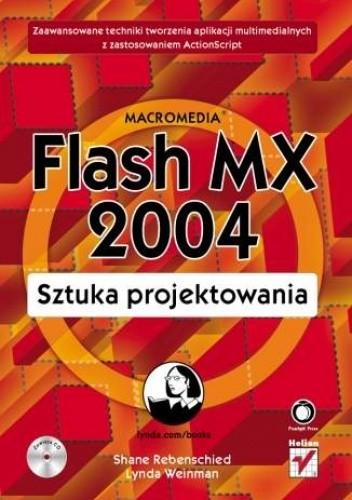 Okładka książki Macromedia Flash MX 2004. Sztuka projektowania