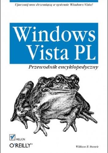 Okładka książki Windows Vista PL. Przewodnik encyklopedyczny