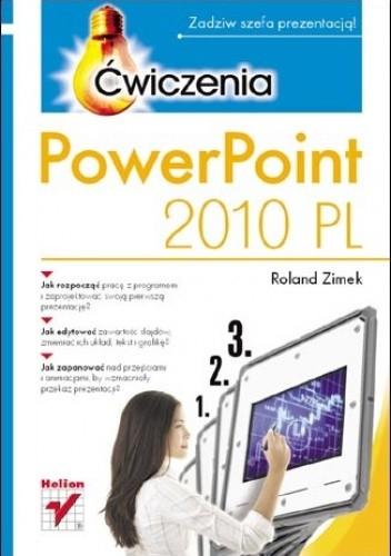 Okładka książki PowerPoint 2010 PL. Ćwiczenia