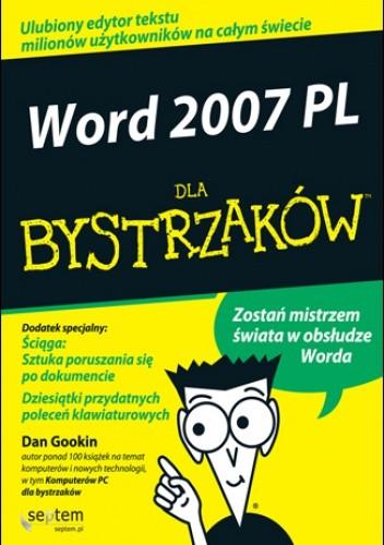 Okładka książki Word 2007 PL dla bystrzaków