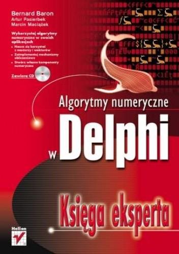 Okładka książki Algorytmy numeryczne w Delphi. Księga eksperta