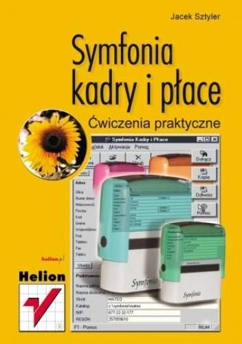 Okładka książki Symfonia - kadry i płace. Ćwiczenia praktyczne