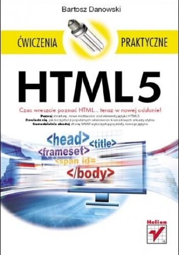 Okładka książki HTML5. Ćwiczenia praktyczne