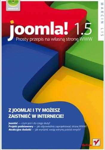 Okładka książki Joomla! 1.5. Prosty przepis na własną stronę WWW