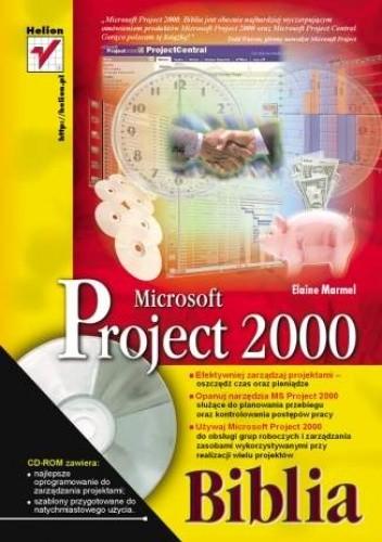 Okładka książki MS Project 2000. Biblia