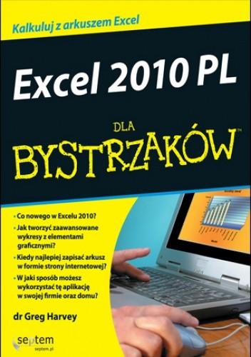 Okładka książki Excel 2010 PL dla bystrzaków