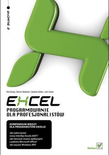 Okładka książki Excel. Programowanie dla profesjonalistów. Wydanie II