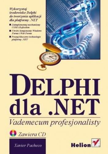 Okładka książki Delphi dla .NET. Vademecum profesjonalisty