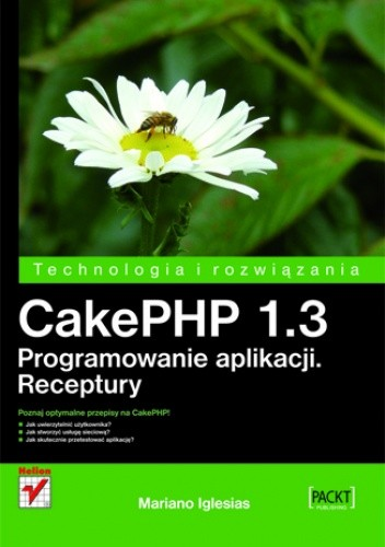 Okładka książki CakePHP 1.3. Programowanie aplikacji. Receptury