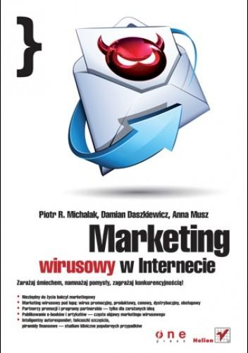 Okładka książki Marketing wirusowy w internecie