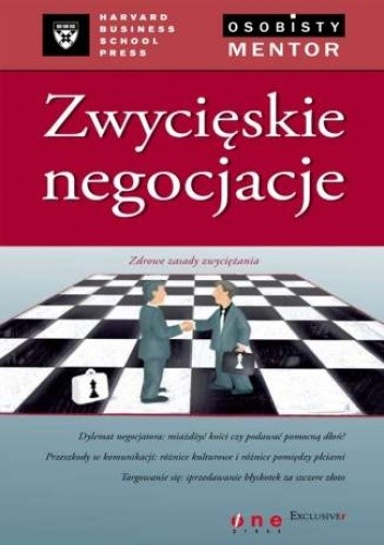 Okładka książki Zwycięskie negocjacje. Osobisty mentor -- Harvard Business School Press