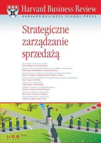 Okładka książki Harvard Business Review. Strategiczne zarządzenie sprzedażą