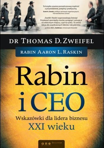 Okładka książki Rabin i CEO. Wskazówki dla lidera biznesu XXI wieku
