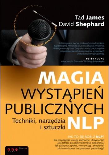 Okładka książki Magia wystąpień publicznych. Techniki, narzędzia i sztuczki NLP