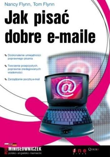 Okładka książki Jak pisać dobre e-maile