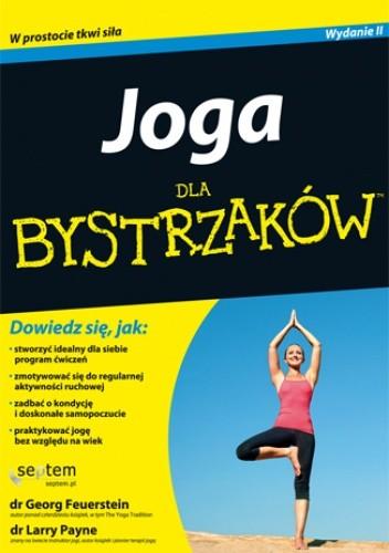 Okładka książki Joga dla bystrzaków