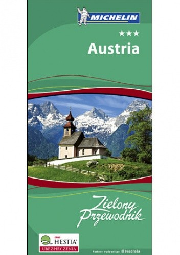 Okładka książki Austria. Zielony Przewodnik Michelin. Wydanie 1