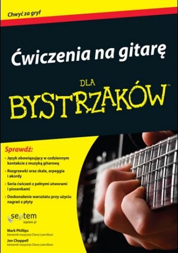 Okładka książki Ćwiczenia na gitarę dla bystrzaków