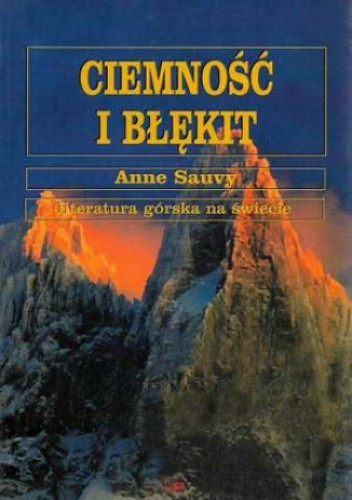 Okładka książki Ciemność i błękit
