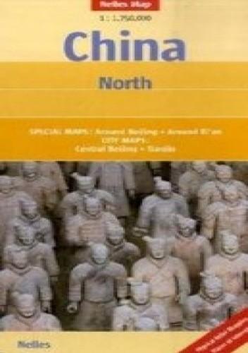 Okładka książki Chiny Północne. Mapa