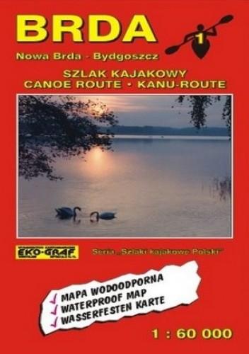 Okładka książki Brda. Szlak kajakowy