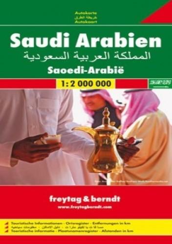 Okładka książki Arabia Saudyjska. Mapa Freytag & Berndt 1:2 000 000