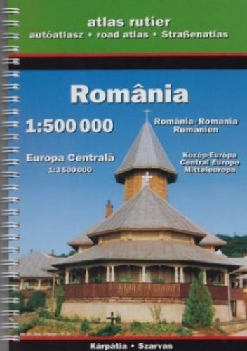 Okładka książki Rumunia. Atlas turystyczny