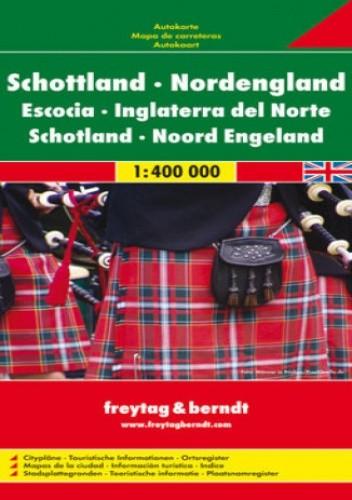 Okładka książki Szkocja. Mapa Freytag & Berndt 1:400 000