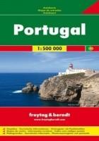 Portugalia. Mapa 1:500 000