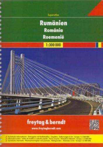 Okładka książki Rumunia. Atlas Freytag & Berndt / 1:300 000