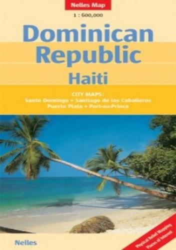 Okładka książki Dominikana, Haiti. Mapa samochodowa
