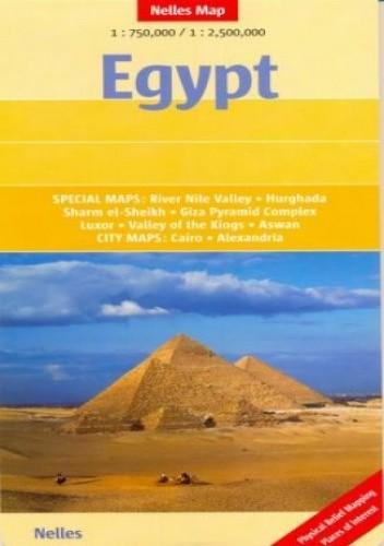 Okładka książki Egipt. Mapa