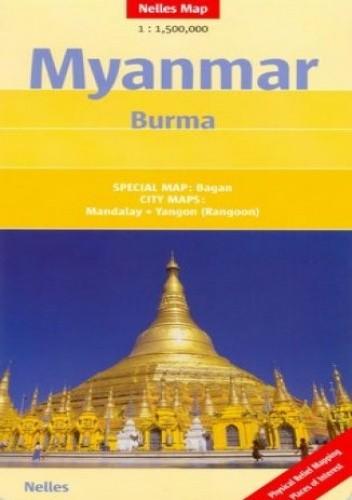 Okładka książki Myanmar. Birma
