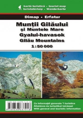 Okładka książki Góry Gilau. Mapa turystyczna