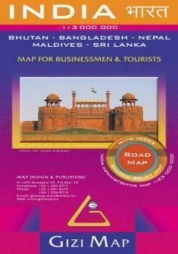 Okładka książki Indie. Mapa drogowa